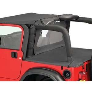 97 06 Jeep Wrangler & Unlimited Black Bikini Top NEW Automotive