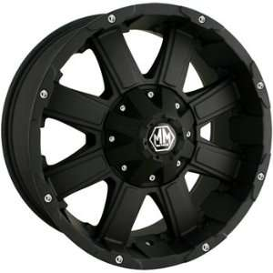 Mayhem Chaos 8030 Matte Black Wheel (20x9/16x170mm