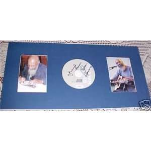 Richie Havens Signed Autographed Crown CD MATTED JSA