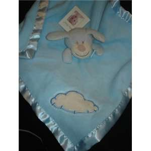 Beyond (Nunu) Baby Baby Blue Puppy White Cloud Security Blanket Baby