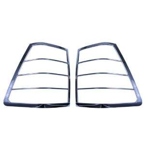 Rugged Ridge 13310.21 Chrome Tail Light Cover for Jeep Grand Cherokee