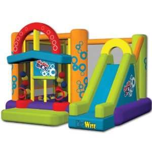 Double Shot Inflatable Bounce House w/Slide KWJC201 Toys & Games