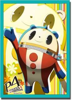 Persona 4 60 TCG Trading Card Sleeves *Kuma* ~Anime Game P4