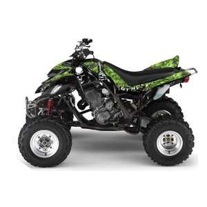 AMR Racing Yamaha Raptor 660 ATV Quad Graphic Kit   Reaper