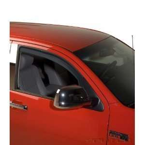 Tinted Window Visors Fits Dodge RAM Crew Cab & Mega Cab 2500 3500 (Set
