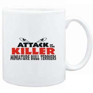 ATTACK OF THE KILLER Miniature Bull Terriers  Dogs