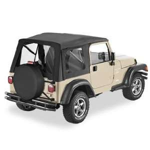 Cloth   Black Denim   Tinted Windows   Jeep   Wrangler 1997 2002   Kit