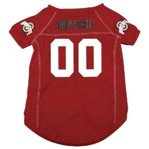 Ohio State University Buckeyes Pet Dog Football Jersey