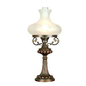 Dale Tiffany MT701166 1 Light Bissett Table Lamp Antique