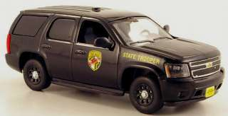 modelcar CHEVROLET TAHOE 2011 MARYLAND STATE POLICE   1/43