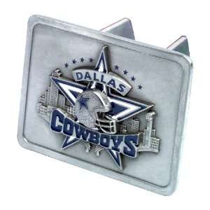 Dallas Cowboys NFL Pewter Trailer Hitch Cover by Half Time Ent