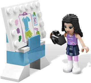 set of LEGO Friends 3936 Emmas Fashion Design Studio NEW IN BOX