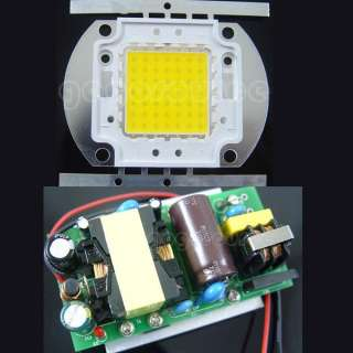50W Warm White 3800LM LED Lamp light + Power Driver