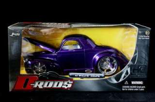 1941 Willys Coupe D Rods HOBBY EXCLUSIVE Purple 124