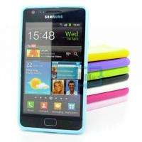 COLOR TPU RUBBER CANDY CASE BUMPER COVER For Samsung Galaxy S2 i9100