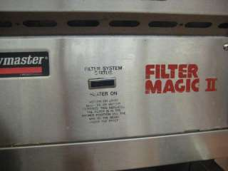 Frymaster FH17SC w/ Filter Magic II