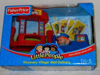 People Discovery Village Mail Delivery 1 1/2 5 Mail Truck ++