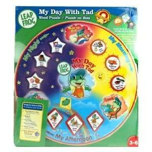 Leap Frog My Day with Tad Magnetic Wood Puzzle Toys