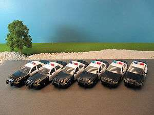 Road Champs Police Ford Crown Victoria Squad Car (New No Box) (Qty 6