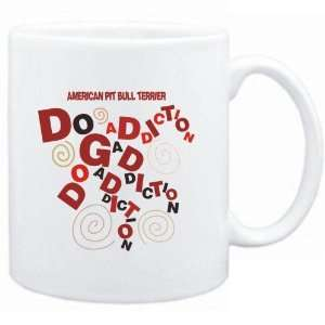 Mug White  American Pit Bull Terrier DOG ADDICTION  Dogs