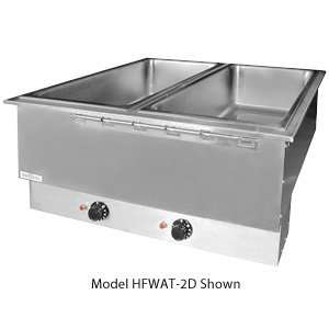 208 Volts APW Wyott HFWAT 5D Insulated Five Pan Drop In Hot Food Well