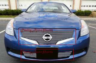 Billet Grille Insert 2008 2009 2010 Nissan ALTIMA COUPE Front Grill