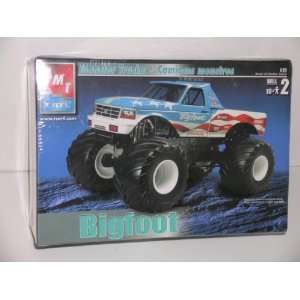 Bigfoot Monster Truck   Plastic Model Kit