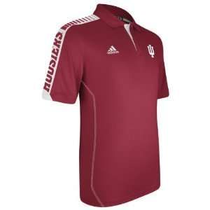 Red adidas 2012 Football Sideline Swagger Polo