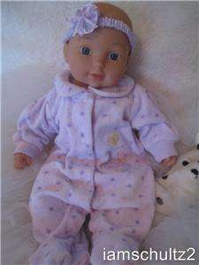 Lifelike CARTERS Vinyl Newborn Baby Doll For Reborn or Play