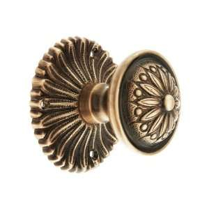 Hollywood Regency Door Set With Helios Knobs Passage in Antique Copper