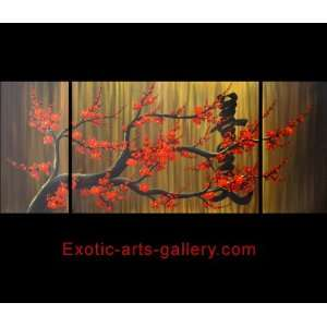 Abstract Art Plum Blossom Oil Painting Feng Shui Painting 425