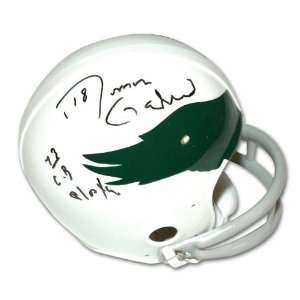 Roman Gabriel Autographed Philadelphia Eagles Throwback Mini Helmet
