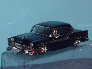 1956 CHEVY BEL AIR DUB CITY CUSTOM 124 BLACK