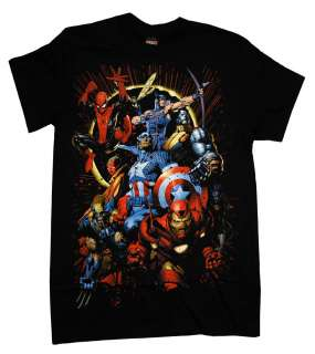 Marvel Comics Heroes Eclipse Superhero T Shirt Tee