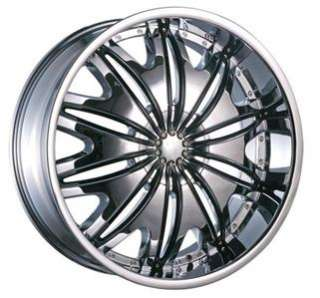 Wheel+Tire Package 20 inch Chrome 5x120 5x114.3 T706