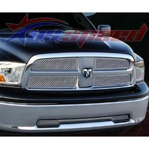 2009 UP Dodge Ram Chrome Wire Mesh Grille 4PC   E&G