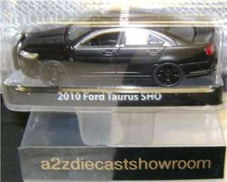 2010 FORD TAURUS SHO BLACK BANDIT GREENLIGHT 164