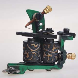 Custom Cast Iron Tattoo Machine Liner Shader Gun HM35