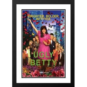 Ugly Betty 32x45 Framed and Double Matted TV Poster   Style C   2006
