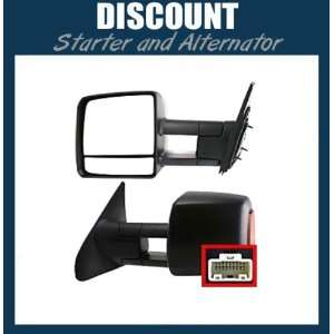 New Driver Side Mirror LH, 2007 2011 Toyota Tundra, Power
