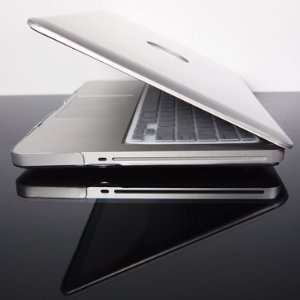 com TopCase Metallic Solid Silver Hard Case Cover for Latest Macbook