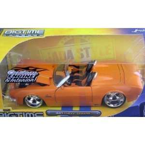 Muscle Orange 1967 Chevy Camaro Convertible 124 Scale Die Cast Car