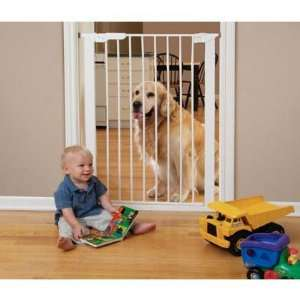 Extra Tall Center Gateway White 29   37 x 42 Baby