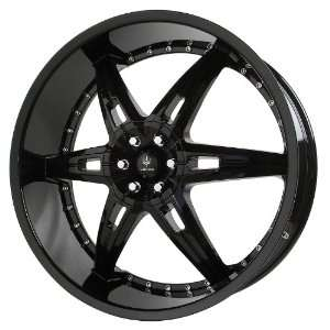 Verde Custom Wheels Allusion Gloss Black Wheel (22x9.5