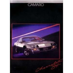 1984 CHEVROLET CAMARO Sales Brochure Literature Book