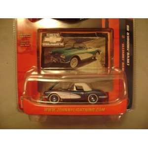 Johnny Lightning Chevy Thunder R8 1958 Chevy Corvette Toys & Games