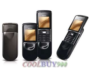 New Nokia 8800 sirocco GSM Mobile Phone Unlocked Black 6417182706875