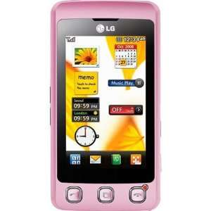 LG KP500 Cookie Unlocked Phone with Camera (Pink