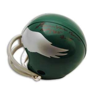 Steve Van Buren Autographed Philadelphia Eagles Throwback