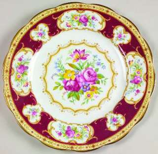Royal Albert LADY HAMILTON Salad Plate 617784